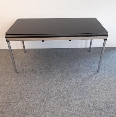 Gebraucht USM Haller Tisch Schwarz 150x75