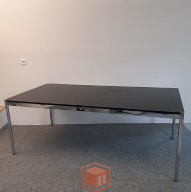 Gebraucht USM Haller Tisch schwarz