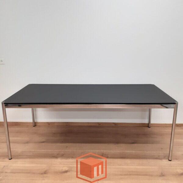 USM Haller Tisch Fenix schwarz 200x100
