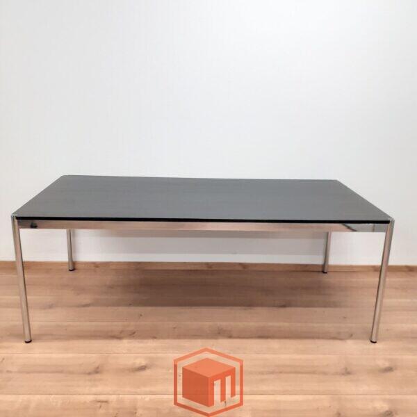 Gebrauchter USM Haller Tisch Schwarz