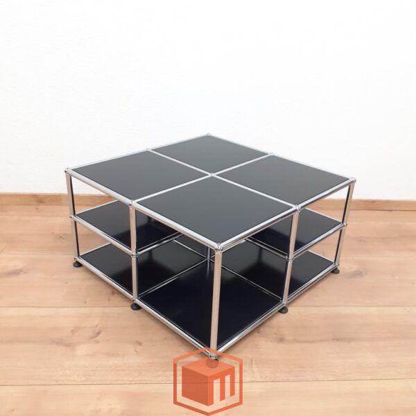 USM Haller solution side tables Schwarz